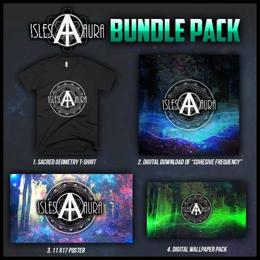 Isles of Aura - Merch Bundle