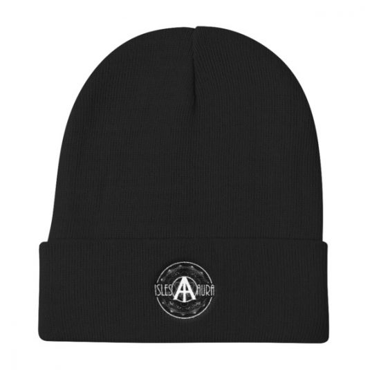 Isles of Aura - Black Beanie