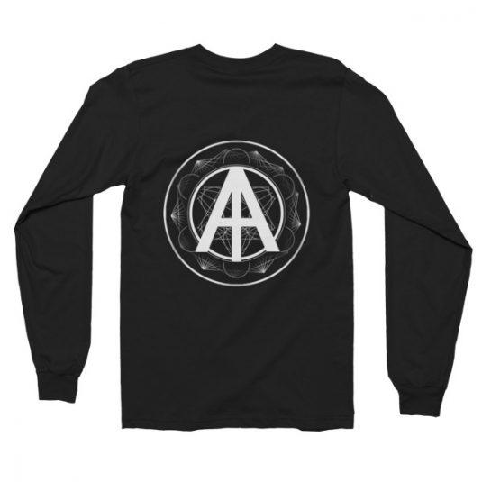 Isles of Aura - Black Long Sleeve T-Shirt
