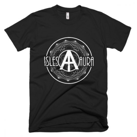 Isles of Aura - Black T-Shirt