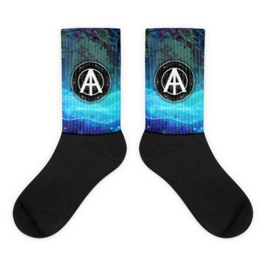 Isles of Aura - Blue Bug Blood Socks