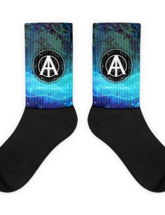 Isles of Aura - Blue Bug Blood Socks