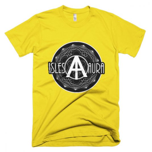 Isles of Aura - Gold T-Shirt