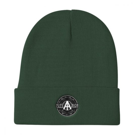 Isles of Aura - Green Beanie