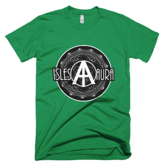 Isles of Aura - Green T-Shirt