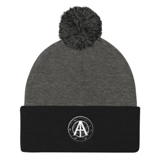 Isles of Aura - Grey & Black Knit Cap