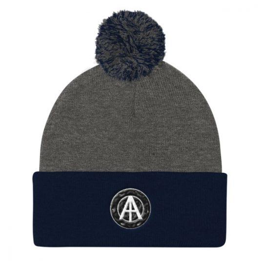 Isles of Aura - Grey & Blue Knit Cap