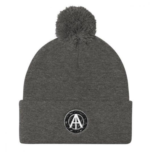 Isles of Aura - Grey Knit Cap