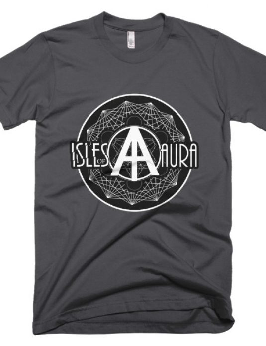 Isles of Aura - Grey T-Shirt