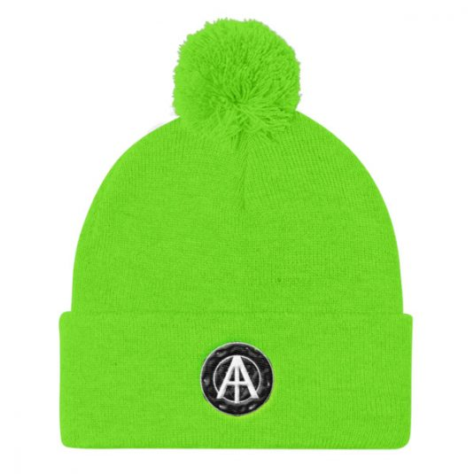 Isles of Aura - Lime Green Knit Cap