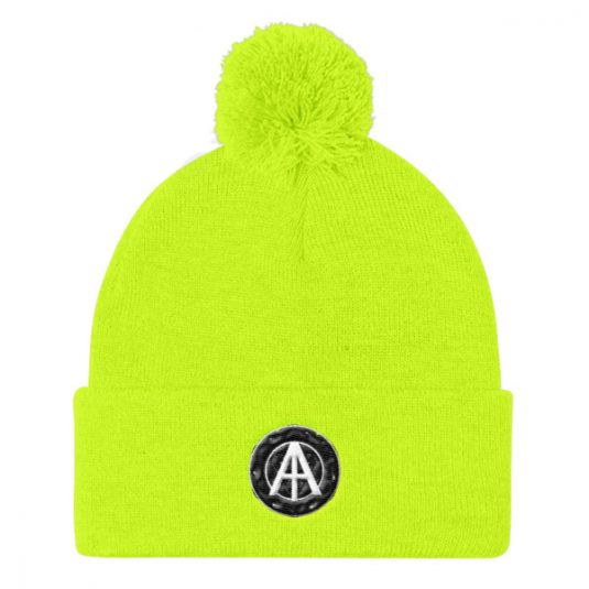 Isles of Aura - Lime Knit Cap