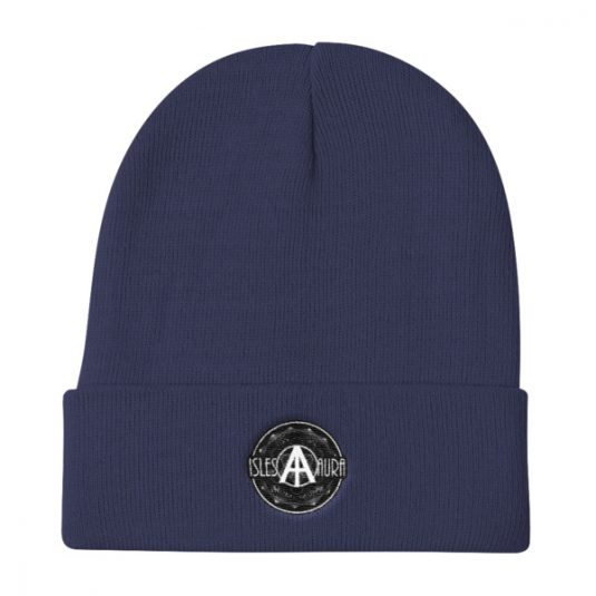 Isles of Aura - Navy Blue Beanie