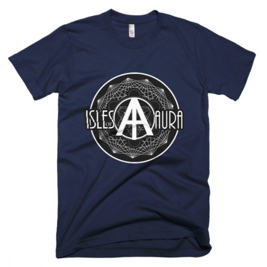 Isles of Aura - Navy Blue T-Shirt