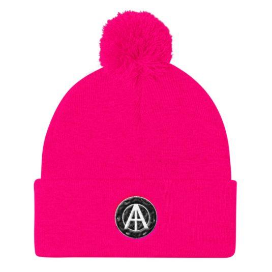 Isles of Aura - Pink Knit Cap