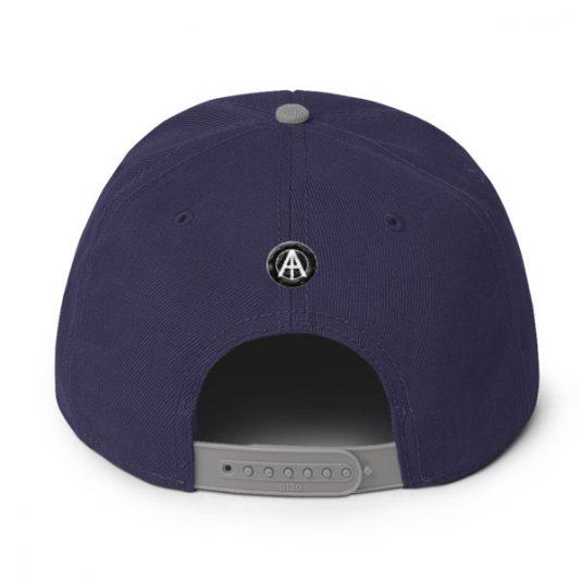 Isles of Aura - Purple & Grey - Snapback (back)