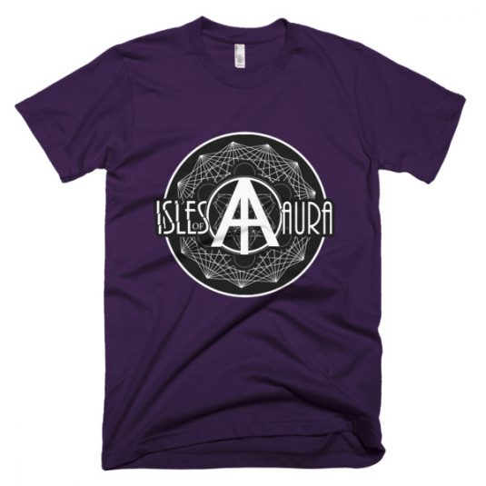 Isles of Aura - Purple T-Shirt