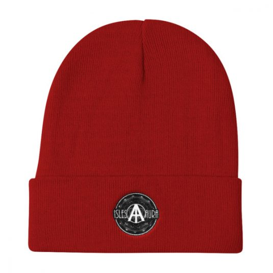 Isles of Aura - Red Beanie