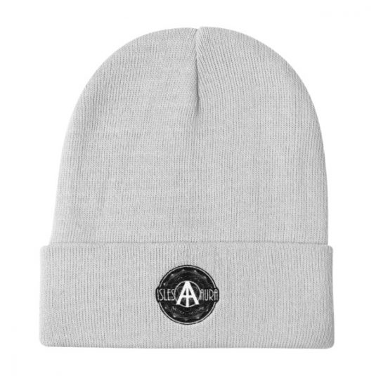 Isles of Aura - White Beanie