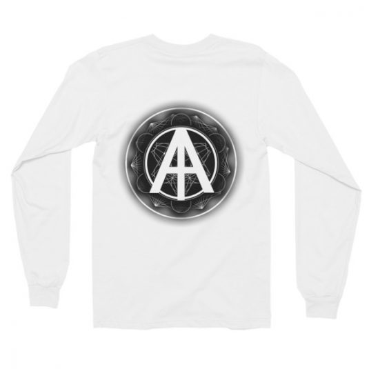Isles of Aura - White Long Sleeve T-Shirt