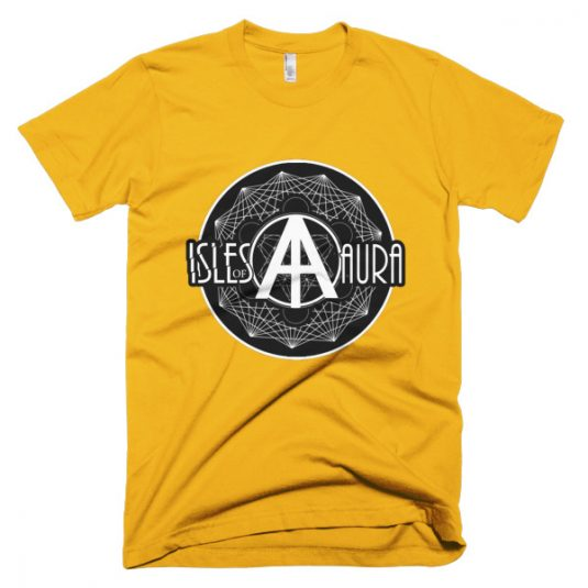 Isles of Aura - Yellow T-Shirt